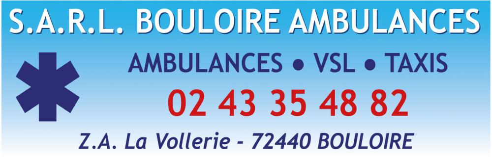 BOULOIRE Ambulances<br>