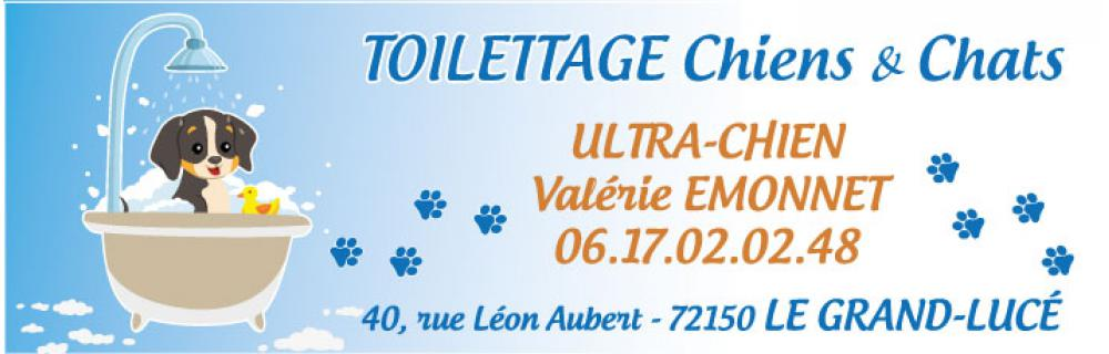 Ultra chien - Toilettage Chiens et Chats<br>
